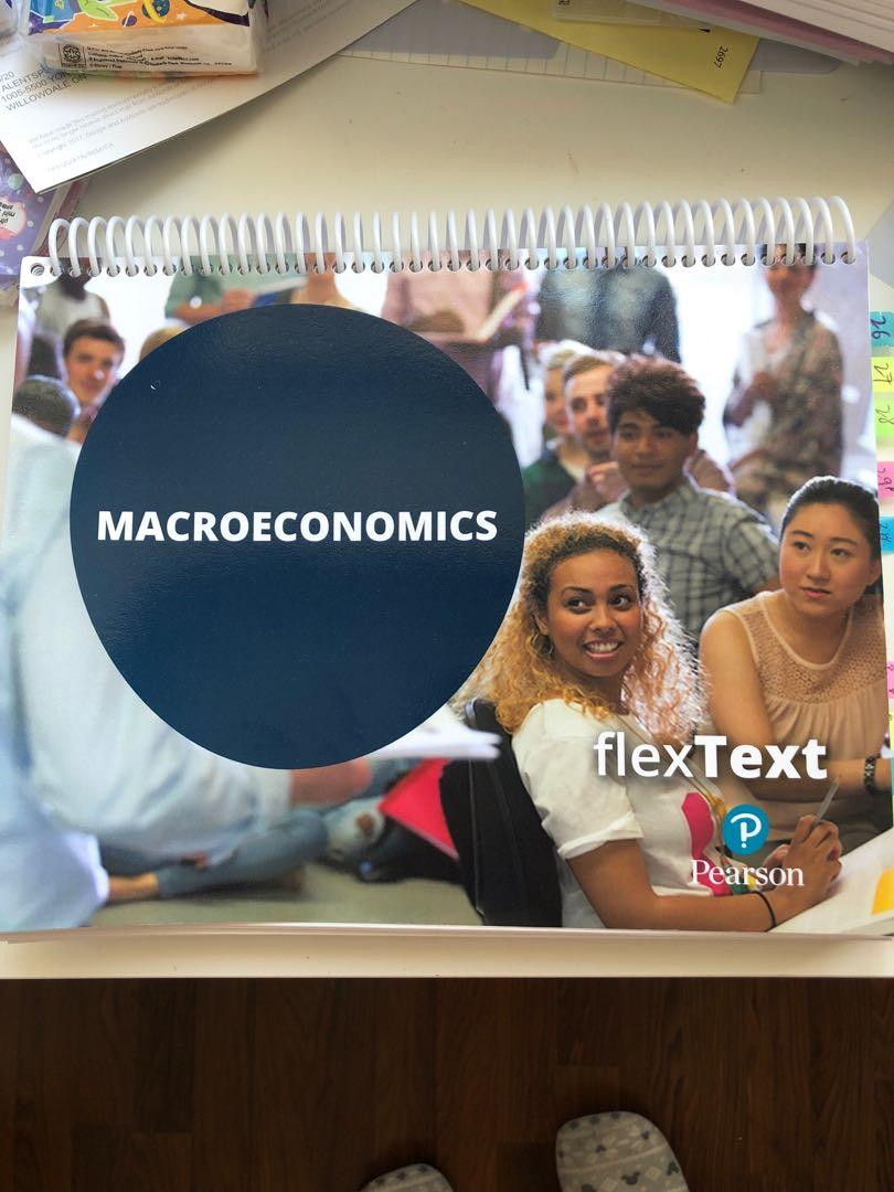 Principles of Macroeconomics flexText Pearson