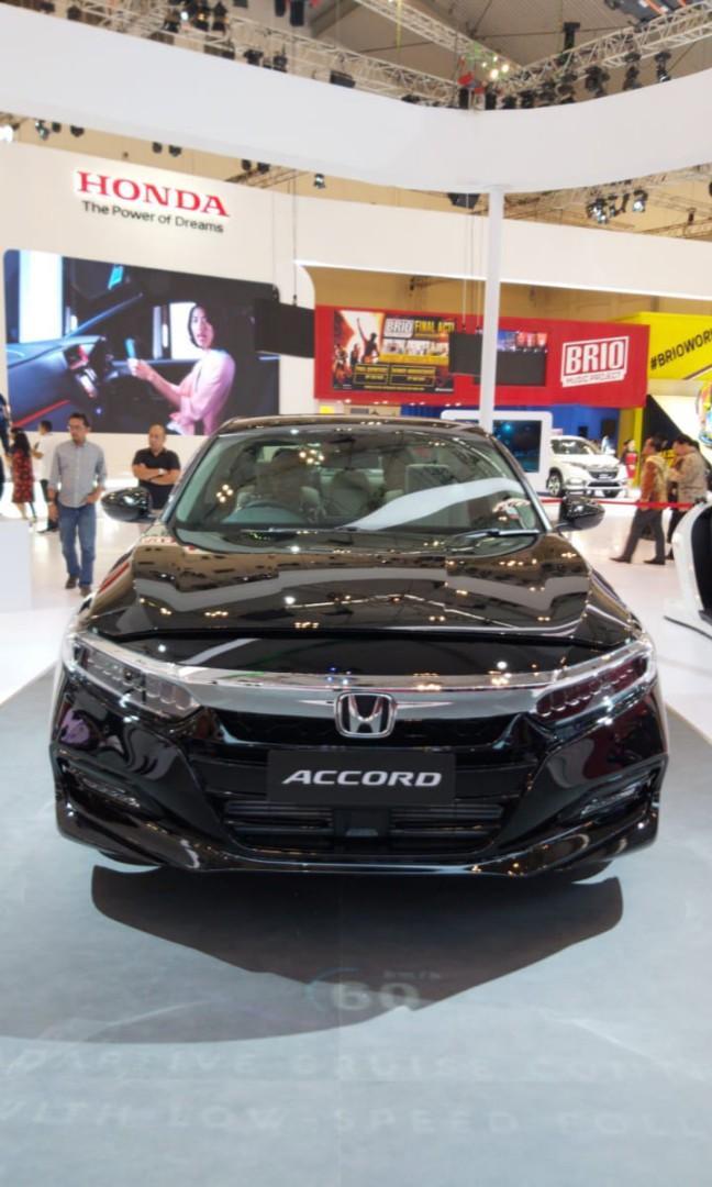 Ready New Accord 2019 Warna Hitam Cukup DP 180jt Sudah bisa Bawa Pulang mobil impian anda