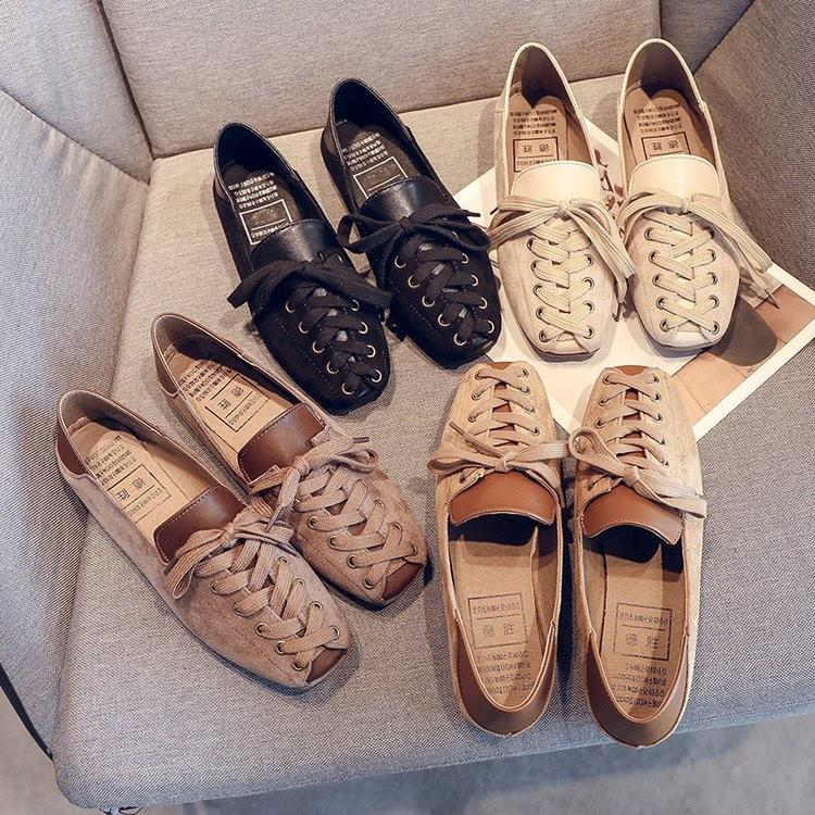 Sepatu Wanita Ala Korea Rajut