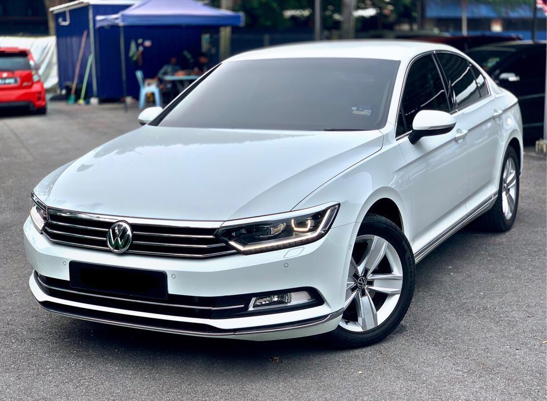 SEWA BELI>>VW PASSAT 1.8TSI CL (A) LATEST FACELIFT 2019