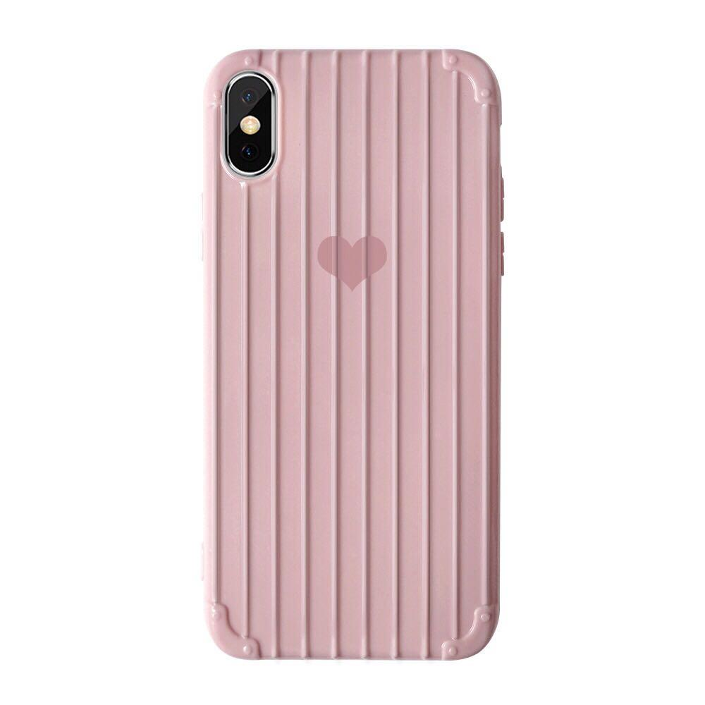 SOFT CASE iPhone pink for ip7+/8+