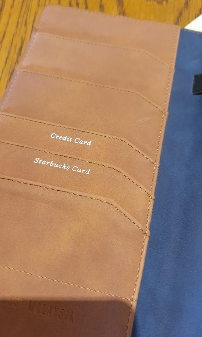 Starbucks Travel Wallet Card Holder Passport Cover
