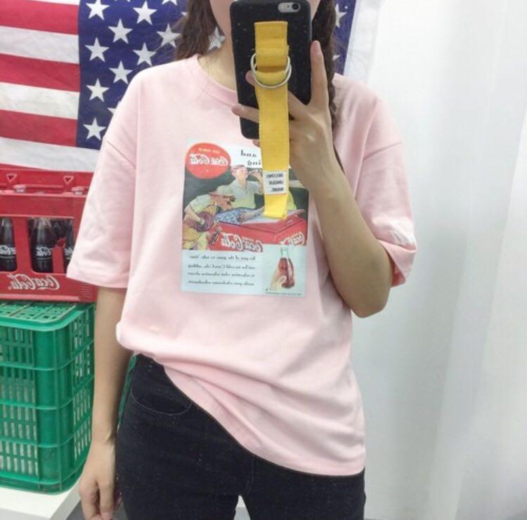 粉色圖片T