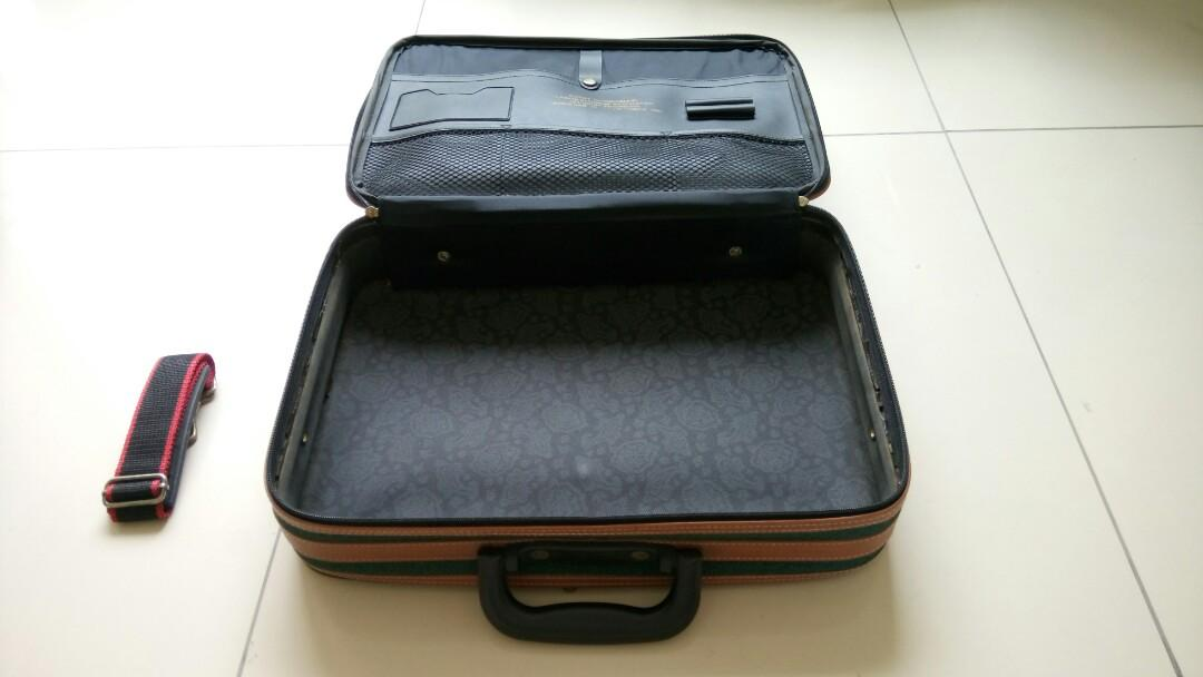 Tas Travel Bag Koper Tali Selempang Strapping Band Travel Time International