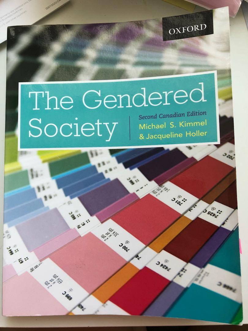 The Gendered Society Second Canadian Edition