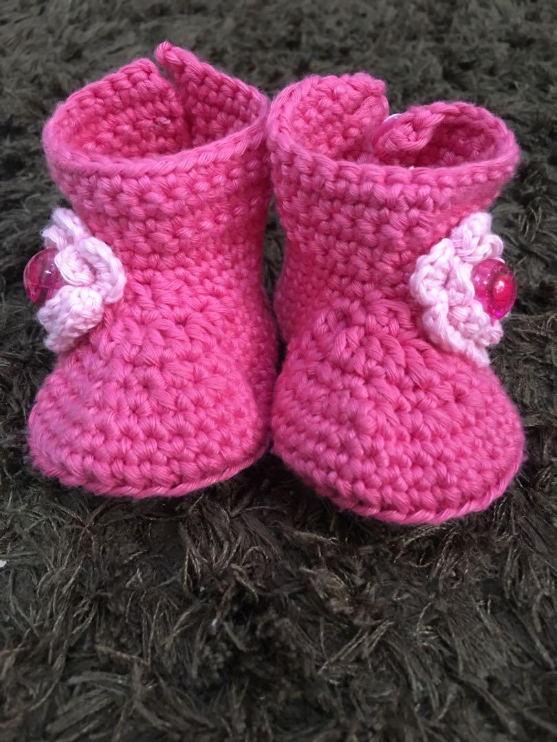 Topi Rajut Bayi & sepatu bayi