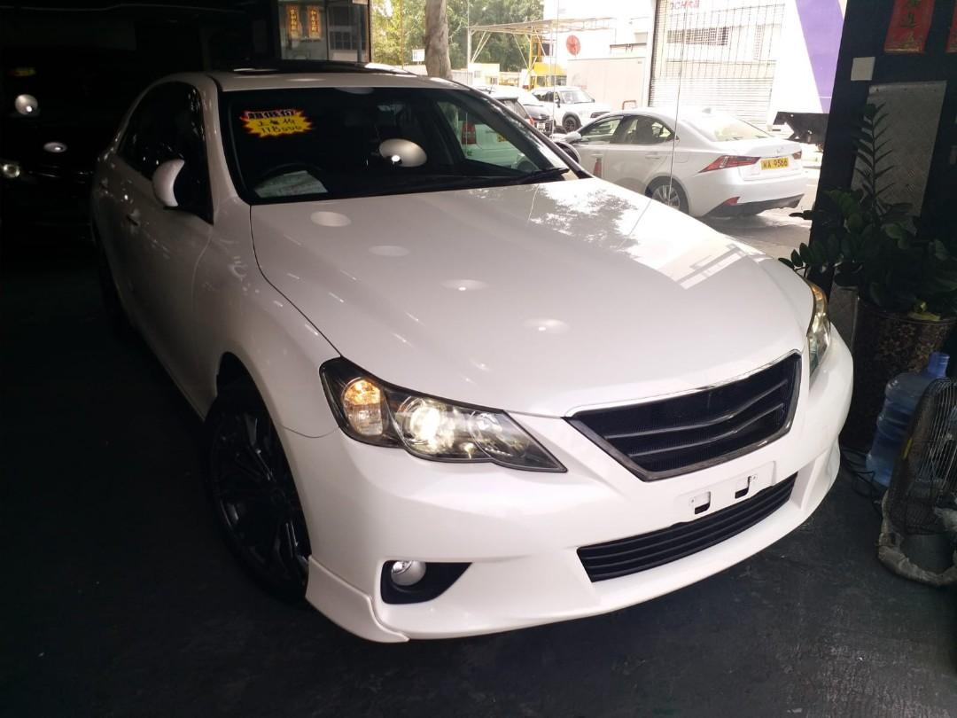 TOYOTA MARK X S 2.5 2010