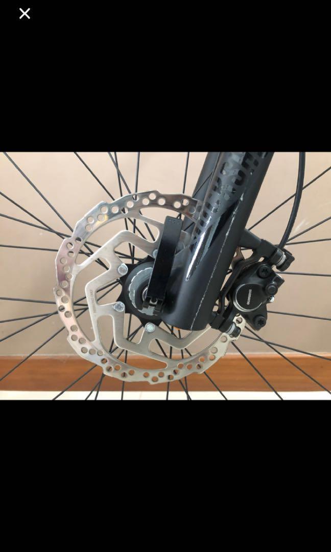 Triumph mountain bicycle