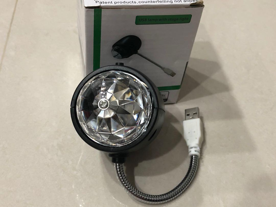 USB lamp with stage light