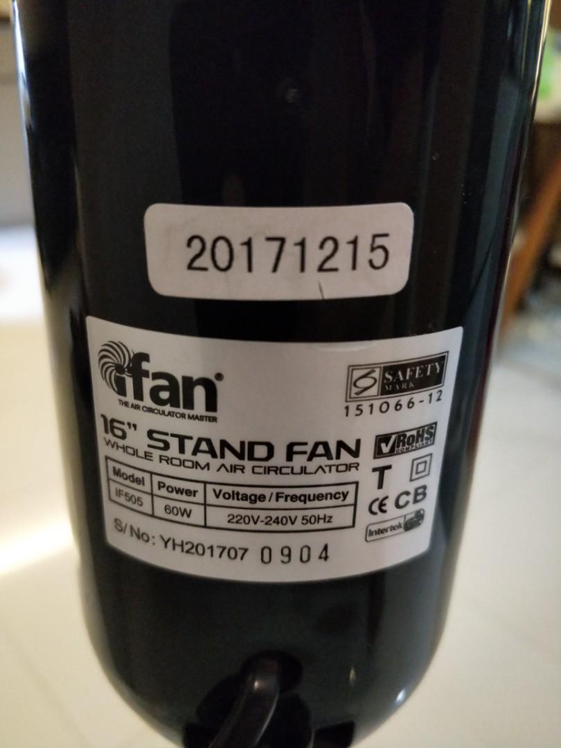 Used Standing Fan