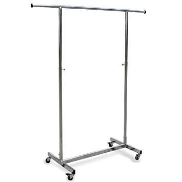 Very solid & strong hanging clothes rack