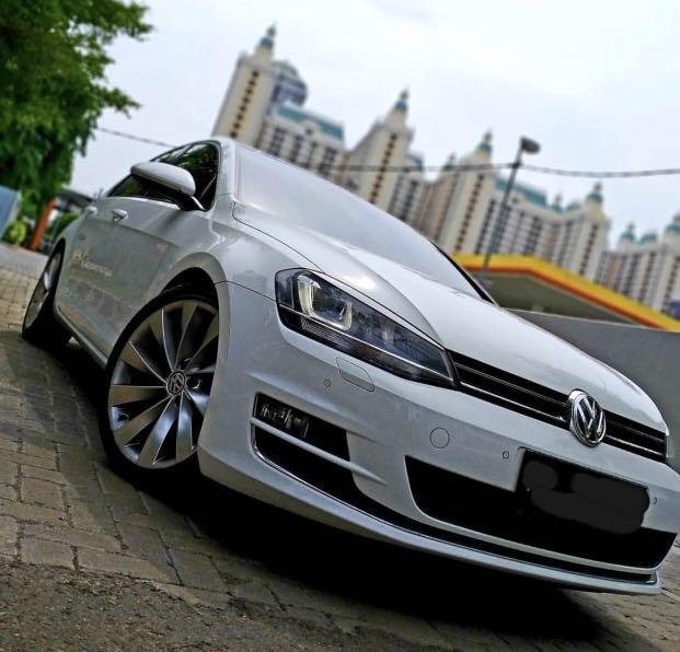 Vw golf mk 7 2015 ( over credit )