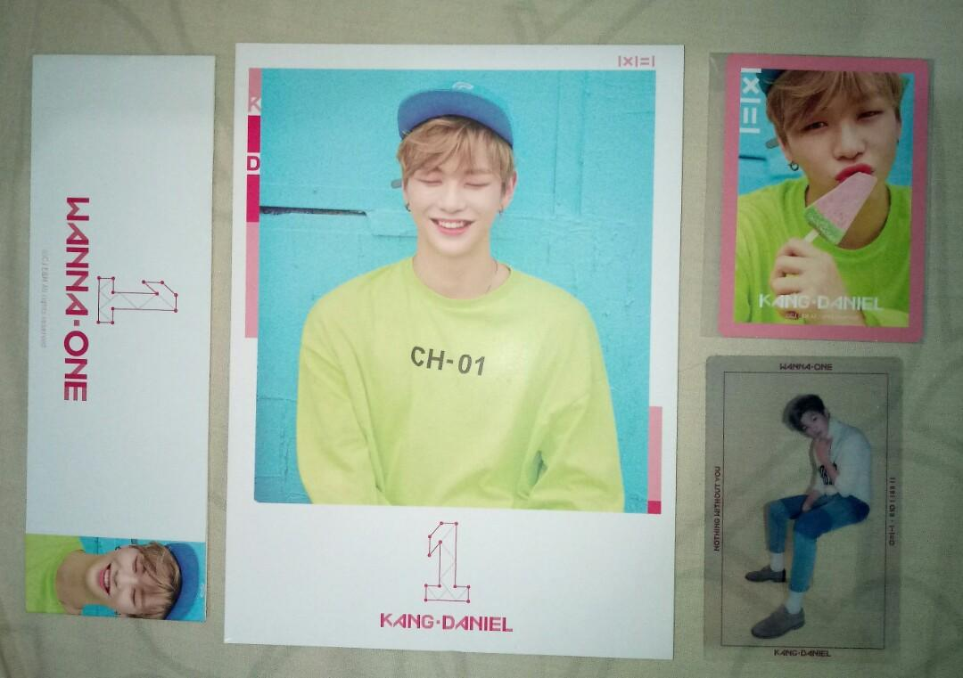Wanna One Kang Daniel CCS + PC Album TBO + NWY pink and one ver