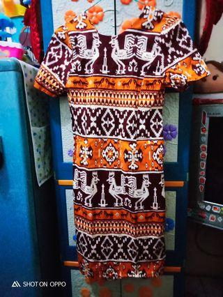 Dress Batik lamode
