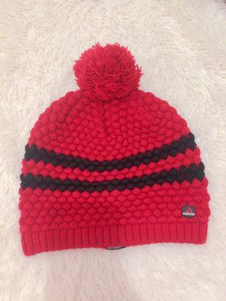 Adidas正版毛帽