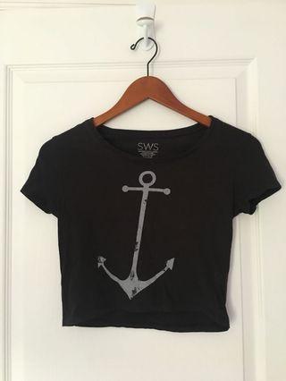 Anchor Crop Top
