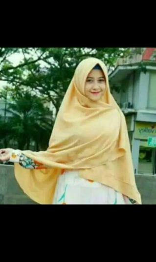 Hijab khimar instan