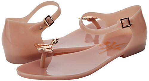 Vivienne Westwood x Melissa 裸色夾腳涼鞋 size:36