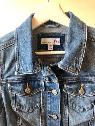 Denim vintage wash jacket
