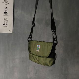 :AgdLab:MEI - 日系 軍綠 小包