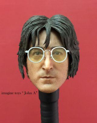 Imagine Toys IT John A John head sculpt The Beatles