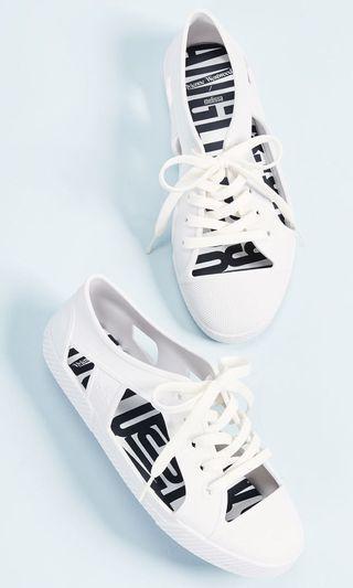 Vivienne Westwood x Melissa 白色鏤空休閒鞋 size:36