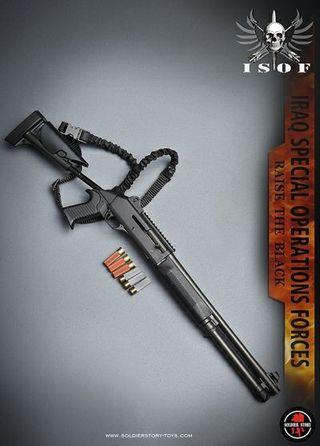 [STOCK] Soldier Story SS105 - Iraq Special Operations Forces ISOF - M1014 Tactical Shotgun