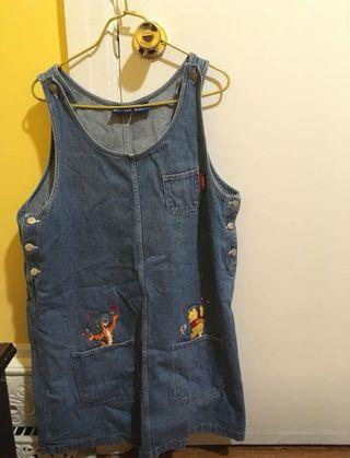 Winnie the Pooh denim dress