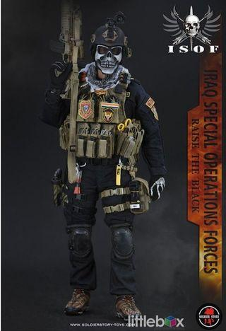 [STOCK] Soldier Story  1/6 SS105 Iraq Special Operations Forces ISOF