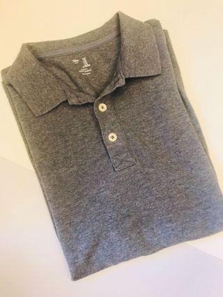 Gap 灰色polo衫 原價30美金