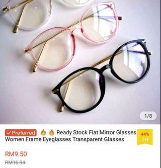 Women eyeglasses pink