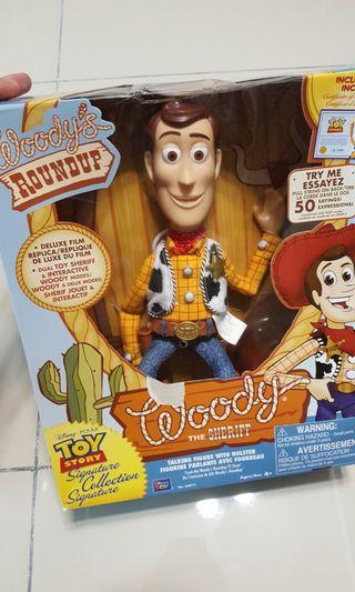Woody toy story signature actual size version