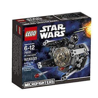 🆕 LEGO 75031 Star Wars Tie Interceptor (Microfighters)