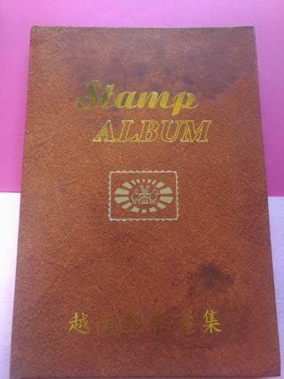 越南郵票集郵冊