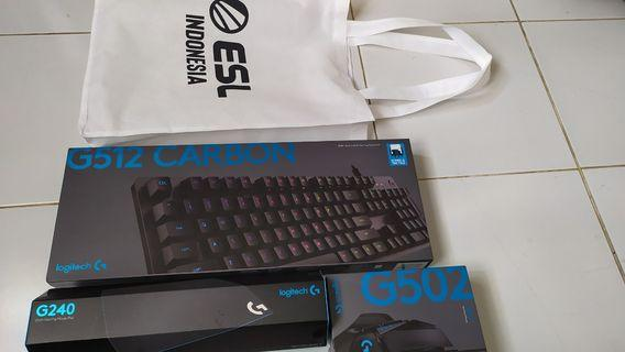 Gaming keyboard & gaming mouse