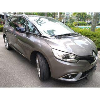 RENAULT GRAND SCENIC DIESEL MPV - (BRAND NEW) WITH GOJEK RENTAL REBATE! CAPTIVATING DESIGN, SUPER FUEL EFFICIENT (IT'S DIESEL !!!), GRAB/RYDE/GOJEK READY