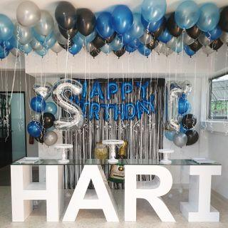 Giant Letters & Marquee Lights for Events or  Dessert Table (FOR RENT)