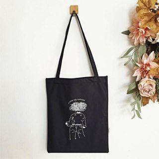 Tote Bag Kanvas Stylish Kece Murah