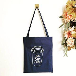 Canvas Totebag Cup Coffee Murah