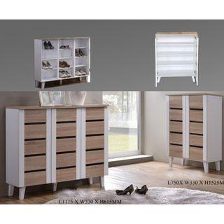 MILO Shoe Cabinet 2 /3 Door