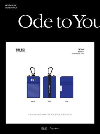Seventeen Ode to You in Seoul Ticket Holder