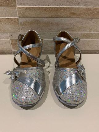 Kids children concert shoes high heels