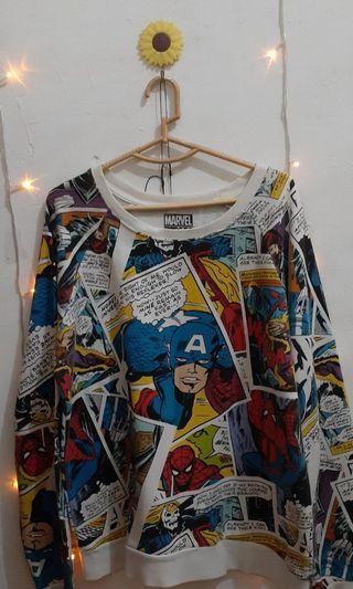 Original Marvel Cartoon Sweater