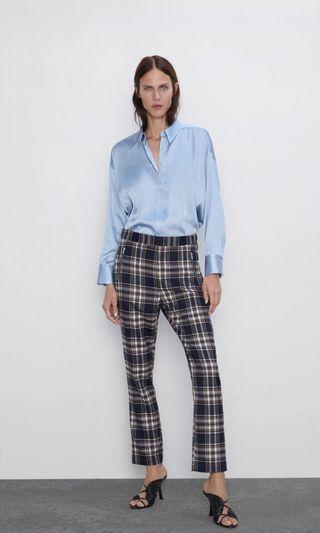 ZARA SATIN BLOUSE