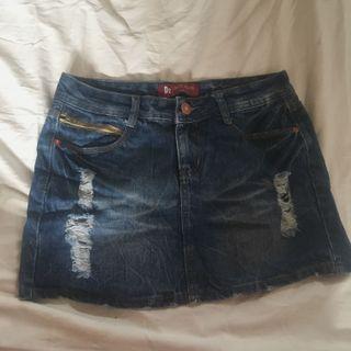 牛仔短裙 很少穿 九成新 #五折清衣櫃