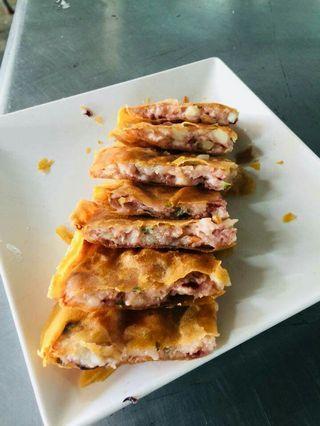 魷魚海鮮蝦餅
