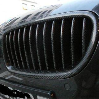 BMW F10 FRONT GRILL -Genuine Robson Design carbon fiber. Free installation.