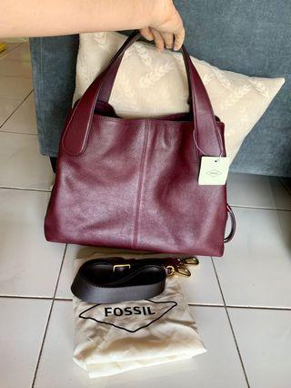 Fossil maya satchel fig