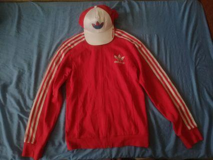 Adidas Sweater n Trucker Adidas Cap