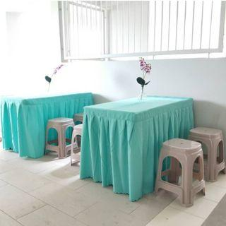 [Rent] Tables and Chairs Rent Rental Cheap Deliver Setup Event Function Wedding Birthday Party Flee Market Roadshow Kenduri Buffet BBQ Barbecue Barbeque Rental Open House Celebration 36